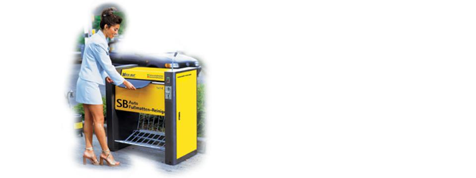 Modèles de Wash-Mat machines à laver tapis voiture:
